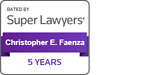 5-yr badge Super Lawyers